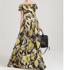 🖤🍋 BOHO Chic! 🍋🖤 RACHEL ZOE Silk Maxi Dress!